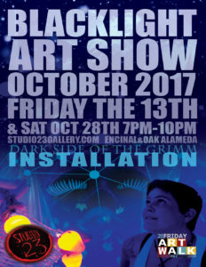 Black Light Art Show