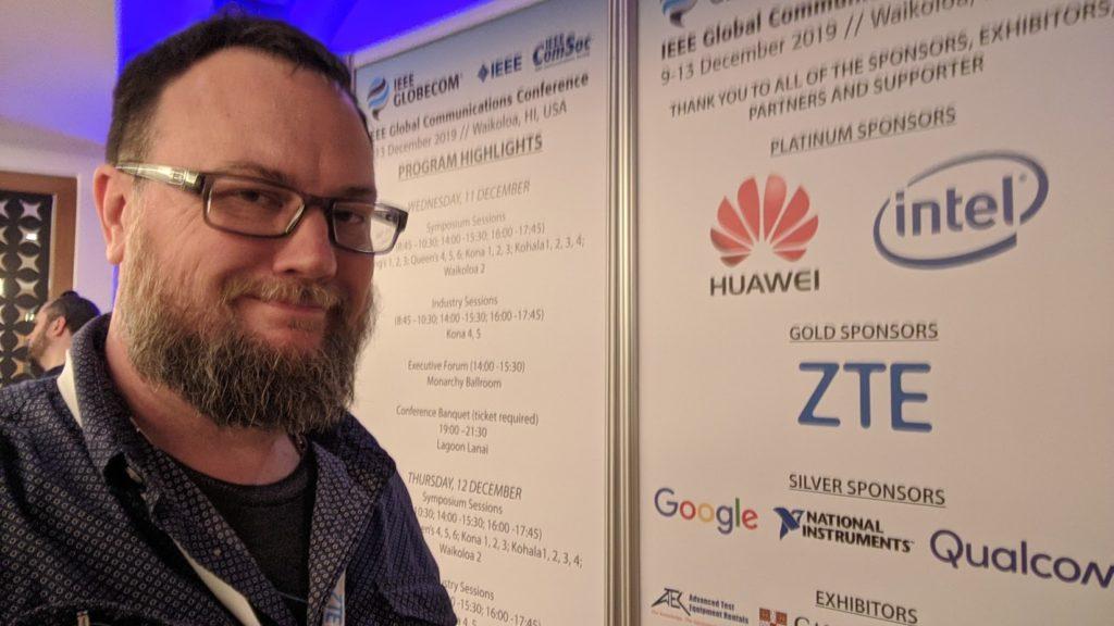 Wes at IEEE Globecom 2019